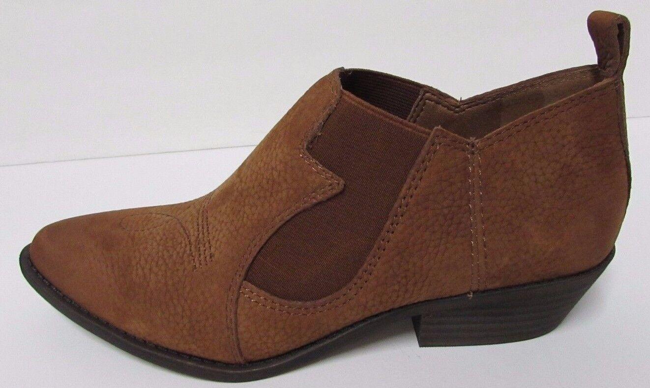 Lucky Brand Gre 6 M Braun Leder Ankle Stiefel Booties  NEU Damenschuhe Schuhes