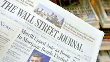 Wall Street Journal 1 Year Print Subscription for sale