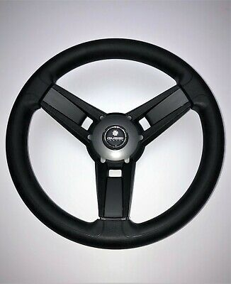 New OEM Gussi Boat Steering Wheel Giazza Matte Grey