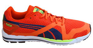368c064638 Puma Faas 350 S Mens Trainers Running Shoes Orange Lace Up Fitness ...