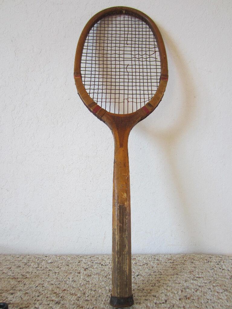 Vintage, De Madera De Tenis por por Tenis