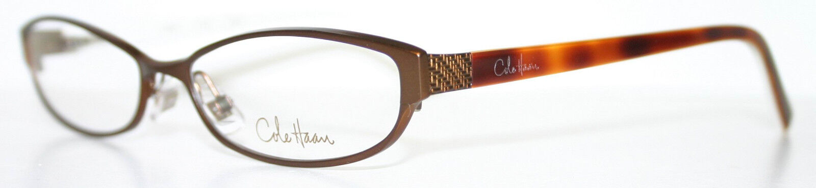 COLE HAAN CH 920 BROWN New Designer Optical Eyeglass Frame Italy ...