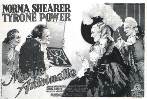 Marie-Antoinette Norma Shearer vintage movie poster  #23