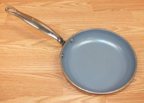 "8/"" 20cm Copper Toned Bottom Non-Stick Frying Pan Choice of GreenPan Elite"