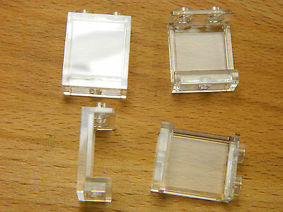 LEGO windows small 3x2 WHITE with glass for house 2x3 BRAND NEW pack of 10