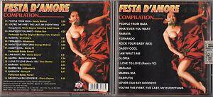 FESTA-D-039-AMORE-CD-SANDY-MARTON-GLORIA-GAYNOR-STATUS-QUO-GIL-VENTURA-TINA-CHARLES