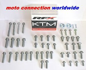 RFX FLEXIBLE LEVER SET ORANGE KTM EXC-F 250 EXC-F 350 2017 BRAKE /& CLUTCH 50600