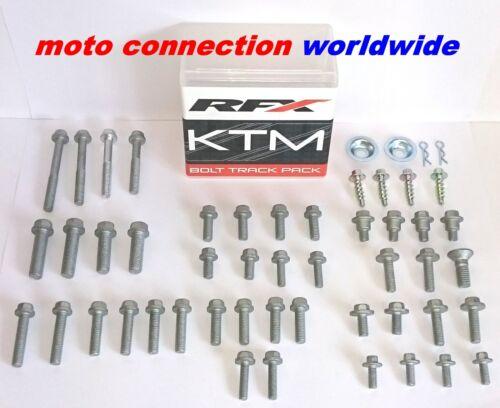 RFX KTM SXF250 SXF350 SXF450 2017 KTM TRACK PACK BOLT FASTENERS KIT OEM TYPE