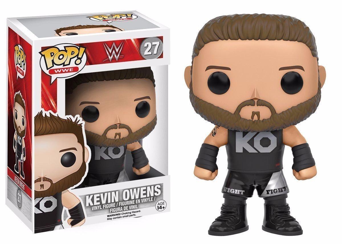 FUNKO POP WWE  27 KEVIN OWENSVAULTED VINYL FIGUREFAST POST