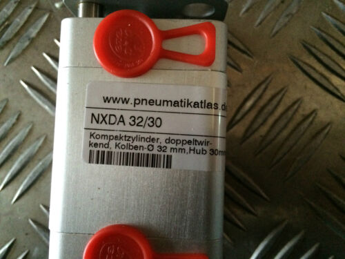 Pneumatik Atlas NXDA 32//30 Kompaktzylinder Hub 30mm NEU
