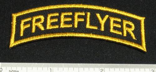 Lot de 2 FREEFLYER Patches For Skydive Parachute Rig Conteneur shirt Cap 25Q