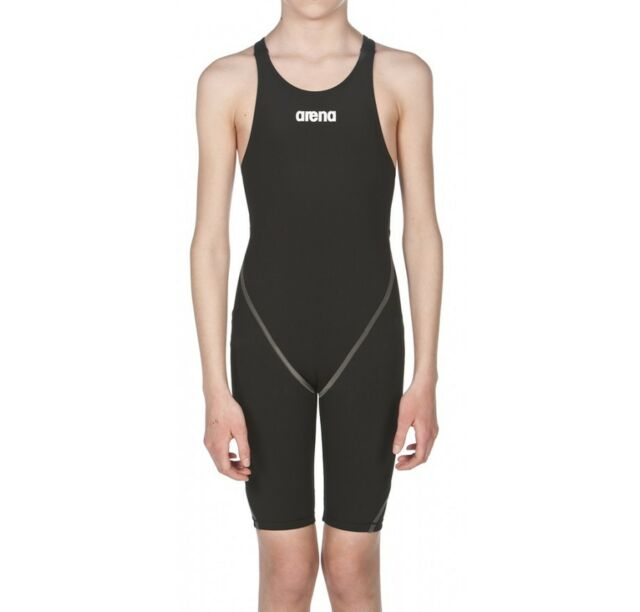 b58bedadaa Arena Girls Uk22 Powerskin St Black Short-leg Junior Race Suit Fina ...