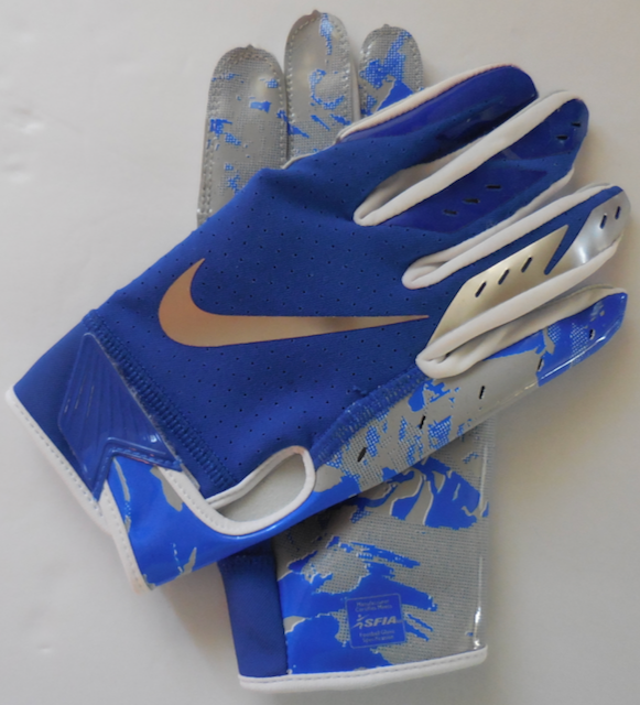 Nike Vapor Jet 4.0 Football Gloves Black//White Youth Size Large