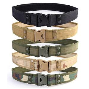 La imagen se está cargando Hebilla-de-cinturon-tactico-militar -Ejercito-de-correas- 54f314870625