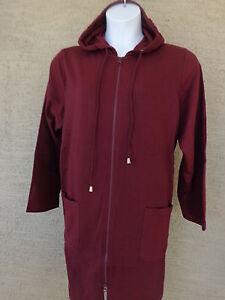 98d7b5afb03 Roaman s 1X 22-24W Light Weight Jersey Fleece Lined Hooded Jacket ...