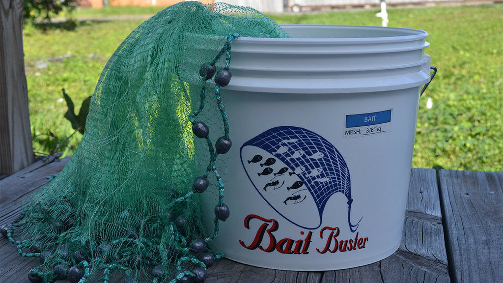 Bait Buster Cast Nets  Bait (3 8  Sq Mesh) Free Speedy Shipping From Florida