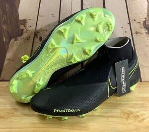 Nike Phantom Vision Elite DF Fixed Gear Noir Football Crampons AO3262 007 Men's 4.5 6 10.5