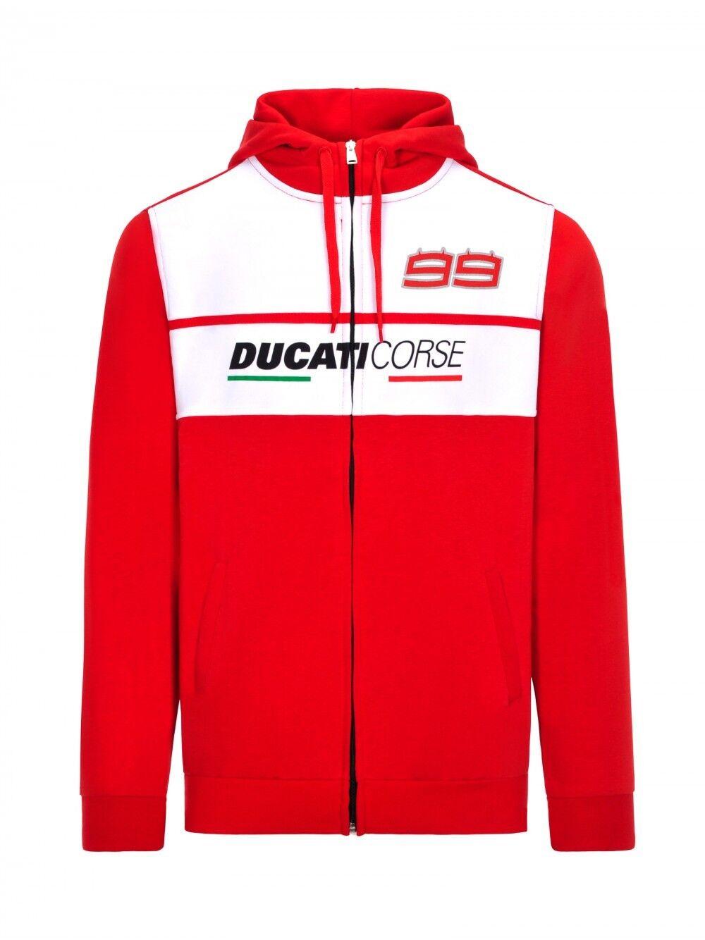 2018 Official Jorge Lorenzo Lorenzo Ducati dual Hoodie - 18 26004