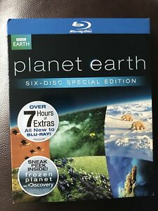 Planet Earth Bluray Six Disc Special Edition Brand New wSlipcover - Schaumburg, Illinois, United States - Planet Earth Bluray Six Disc Special Edition Brand New wSlipcover - Schaumburg, Illinois, United States