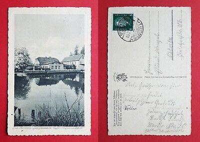 Ak Seidenberg Oberlausitz 1928 Café Grundmühle ( 32241