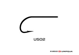 Umpqua U-Series U502 Fly Tying Bass//Streamer Hooks Size 1//0-25 Pack