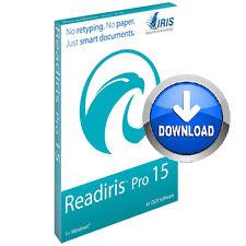 Readiris Pro 15 OCR Software PC Document management Archive Edit PDF Download