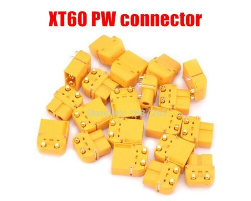 Amass XT60PW Connector Male Female For RC Battery Models Quadcopter XT60 PW T41A