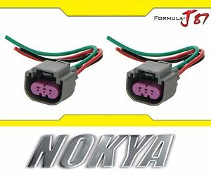 s l300 nokya wire harness pigtail female 9008 h13 nok9109 head light bulb