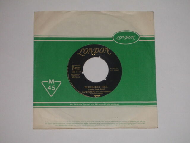 """FATS DOMINO -Blueberry Hill- 7"""" 45"""
