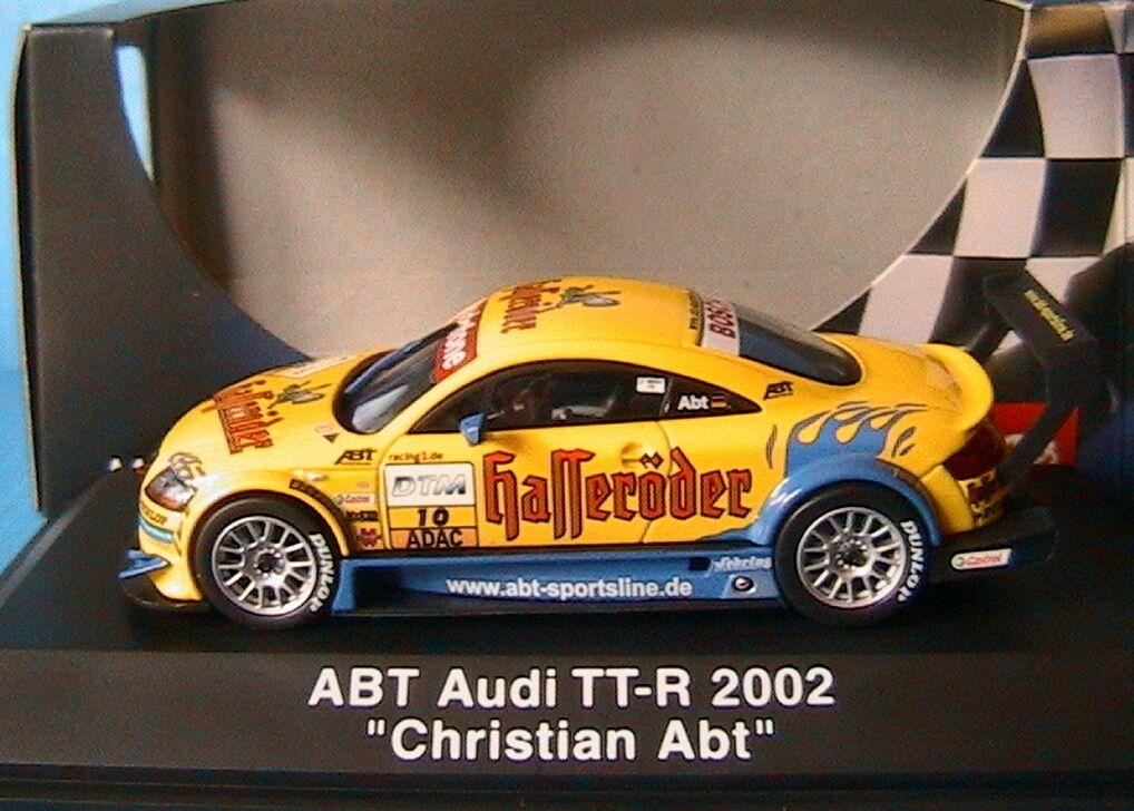 AUDI TT-R  10 HASSERODER DTM 2002 CHRISTIAN ABT SCHUCO 04811 1 43 ADAC