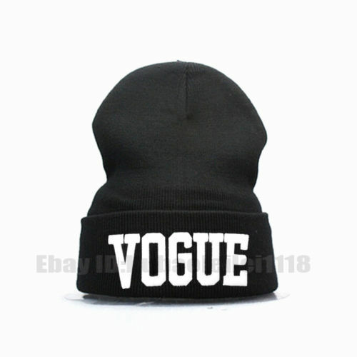 Fashion Winter Men/'s Women/'s Warm Vogue Plain Beanie Hip-hop Ski Knit Hats Cap