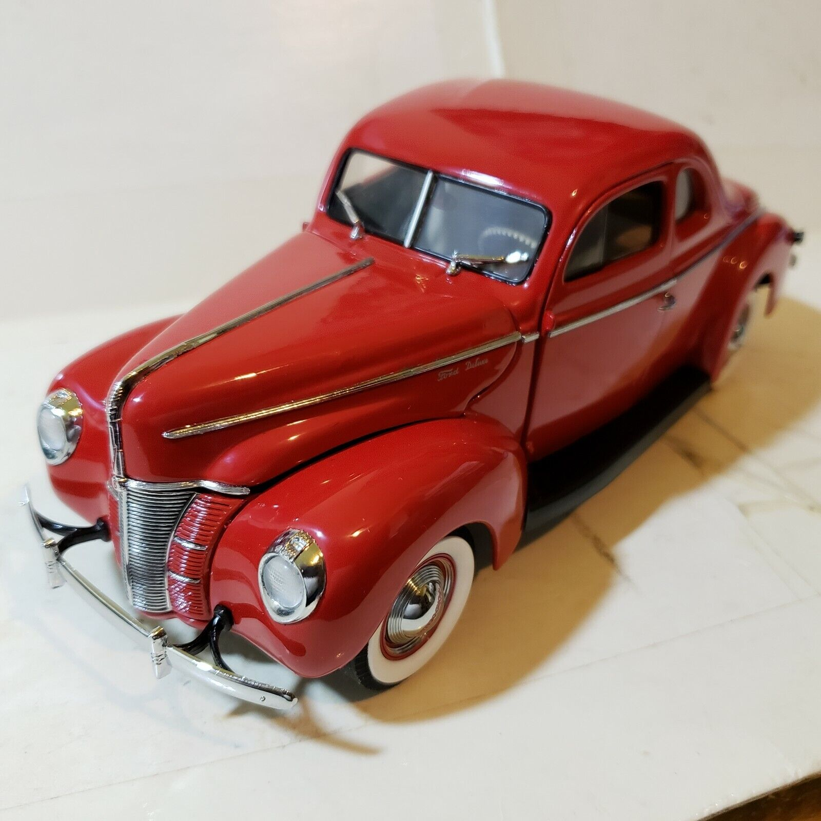 Danbury Mint Ford 1940 Deluxe Coupe 1 24 Scale Die Cast A3