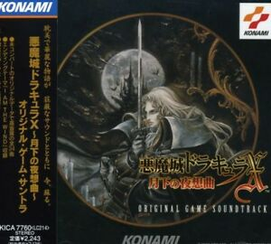 Game-Music-Akumajo-Dracula-X-Original-Soundtrack-New-CD-Japan-Import
