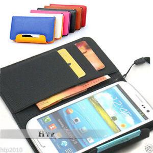 Samsung-Galaxy-S3-III-i9300-Slim-Wallet-Flip-Leather-Pouch-Case-Cover-AU