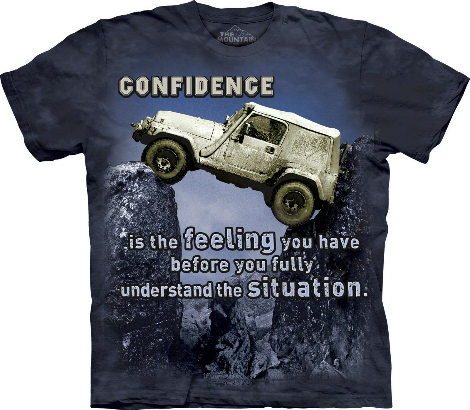 Jeep Outdoor T Shirt Adult Unisex The Mountain