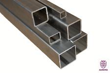 Quadratrohr 12x12x1.5-45x45x3 Stahlrohr Hohlprofil Stahl Vierkantrohr 0.2-2Meter