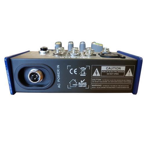 EXTREME MX502 MIXER 3 CANALI COMPATTO PER LIVE PHANTOM POWER +48V + CD TAPE IN E