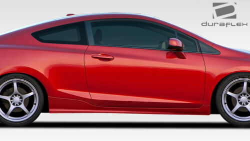 12-15 Honda Civic 2DR Duraflex H-Sport Side Skirts Rocker Panels 2pc 107952