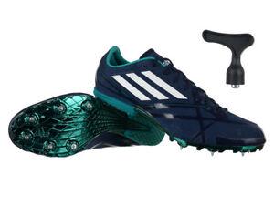 Mens Adidas Adizero Middle Distance 2 Running Spikes Navy SPRINTWEB
