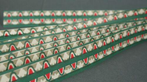 6 km//s122 épicerie 10 Style Art Déco Papier PASSEMENTERIES pour par exemple Poupée O
