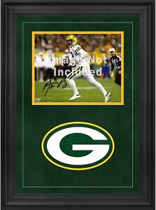 """Green Bay Packers Deluxe 8"""" x 10"""" Horizontal Photograph Frame with Team Logo"""