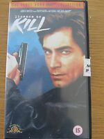 JAMES BOND 007 COLLECTION LICENCE TO KILL AGE 15 ACTION & ADVENTURE VHS VIDEO
