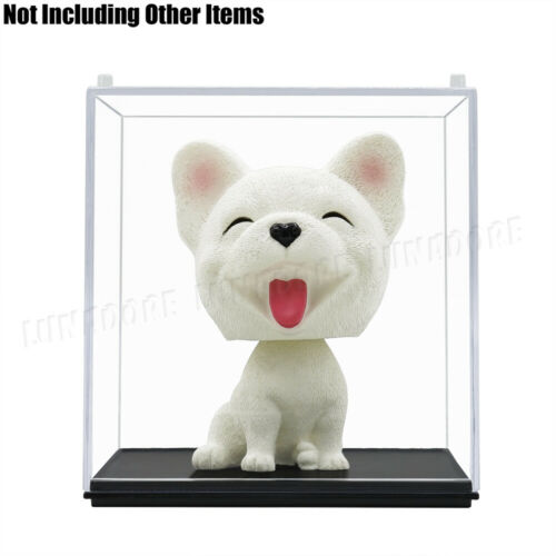 US Clear Acrylic Plastic Display Case Perspex Box Dustproof Protection Cube 10cm