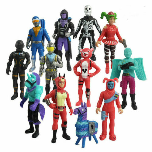 12Pcs//Set Fortnite Bataille Royale Action PVC Figures Doll Kids Toy playse Cadeau V2