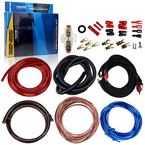 3000W-Pro-4-Gauge-Amp-Install-Wiring-kit-4-AWG-Amplifier-Installation-Cable-Set