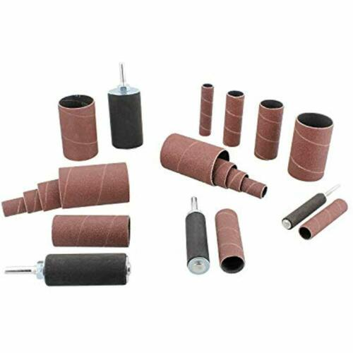 Rubber Drums 0.5-1.5 Inch DCT 1//4 Inch Drive Drill Press Sanding Drum Kit