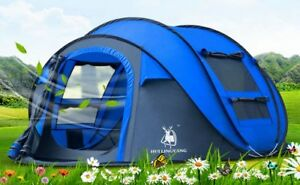 Automatic-Large-Family-Tent-3-4-People-Camping-Throwing-Pop-Up-Second-Open-Tent