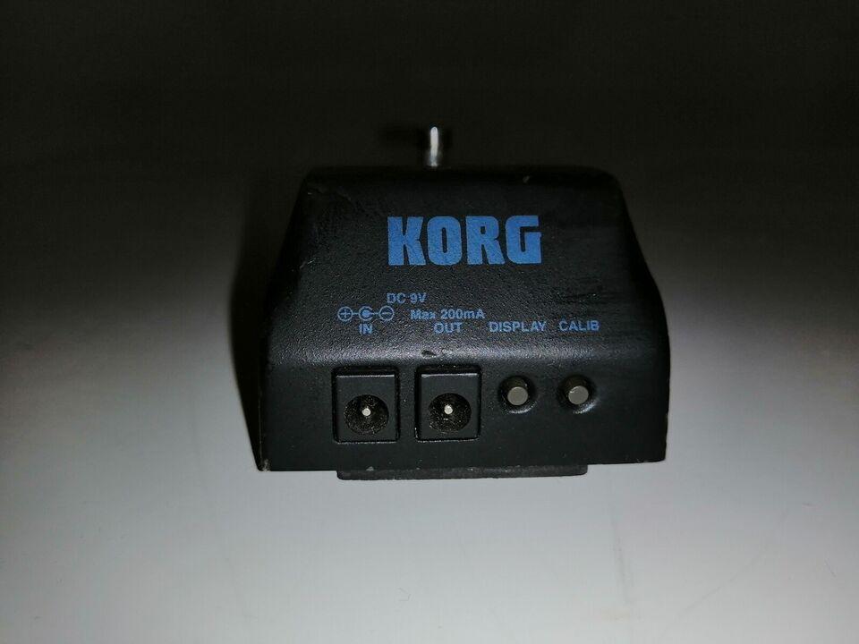 Korg Pitch Black guitar/bass tuner, Korg Pitchblack