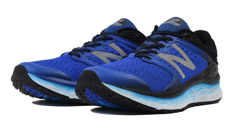 New Balance Mens Fresh Foam 1080v8 Running Sneakers shoes bluee Black US Size 9.5