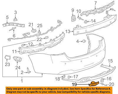 Chevrolet GM OEM 14-15 Camaro Front Bumper Grille-Trim Cover Right 22829508